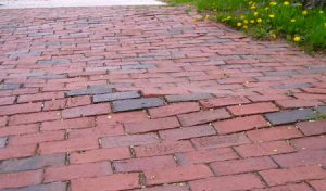Brick Walkway Frost Heave Repair