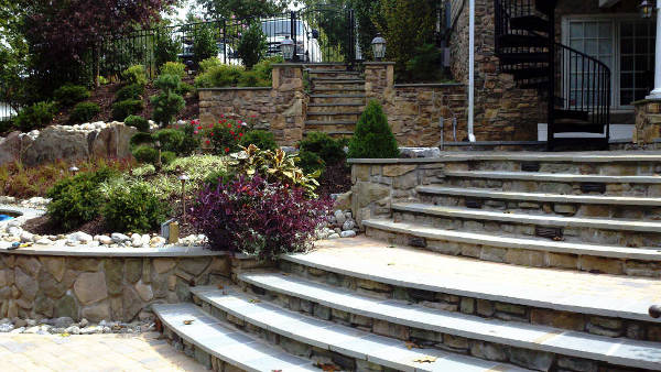 Backyard Hardscapes Levels